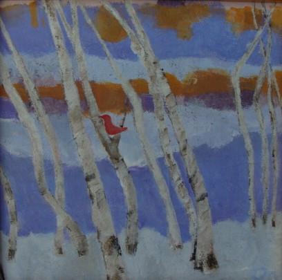 Bird and Landscape I   $195