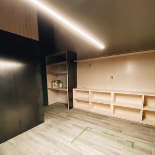 Studio remodeling