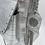 Thumbnail: Mini margaux croco argenté