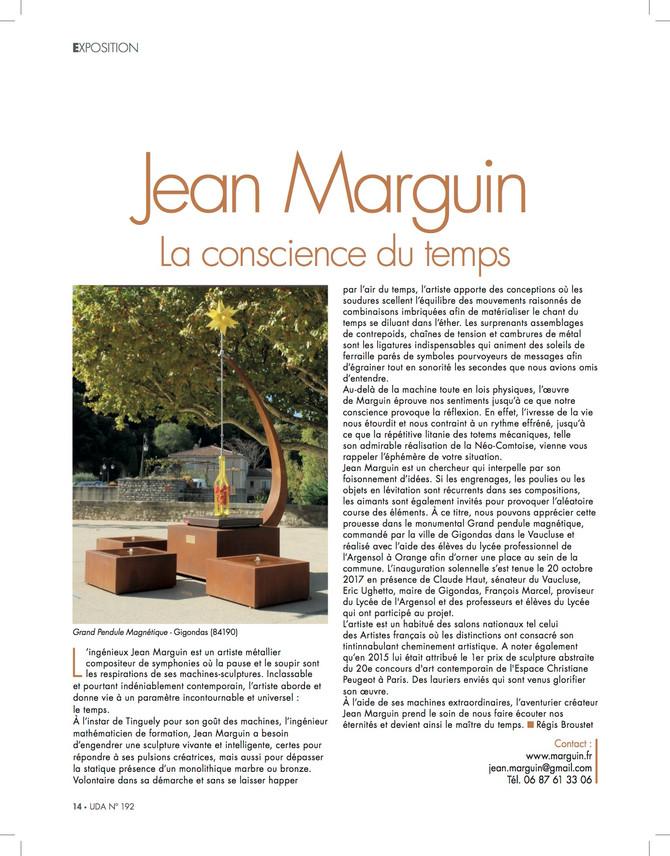 """Mes sculptures à l'honneur dans """"Univers des Arts""""..."""