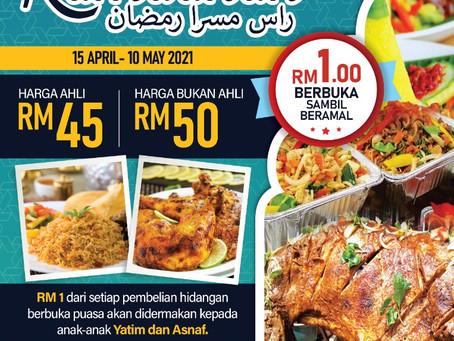 Buffet Ramadhan (Rasa Mesra Ramadhan) 😍