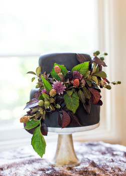 Napa Valley Wedding Cake Flowers