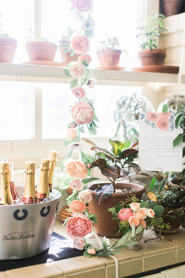 Archetype St Helena Napa Event Flowers as Seen on 100 Layer Cake