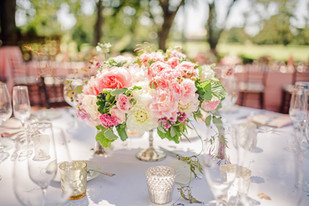 Napa Valley Wedding Flowers on Wedding Cake