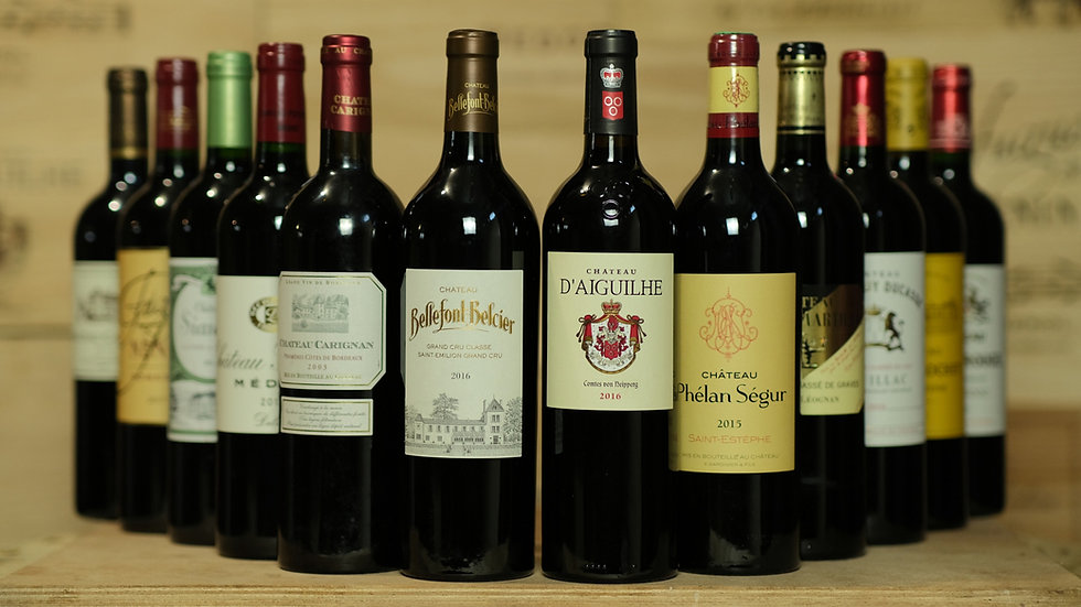 The Wine Passionate - 12 bottles, once or twice a year