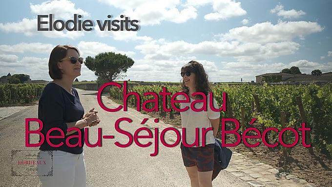 Virtual visit of Chateau Beau-Séjour Bécot