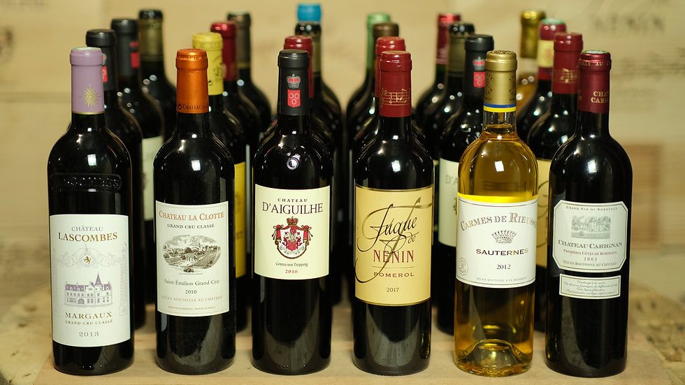 The Bordeaux Expert - 24 bottles, once or twice a year