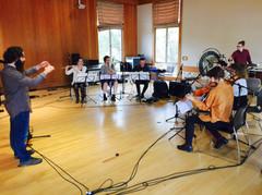 Distractfold Ensemble, rehearsal (2017)
