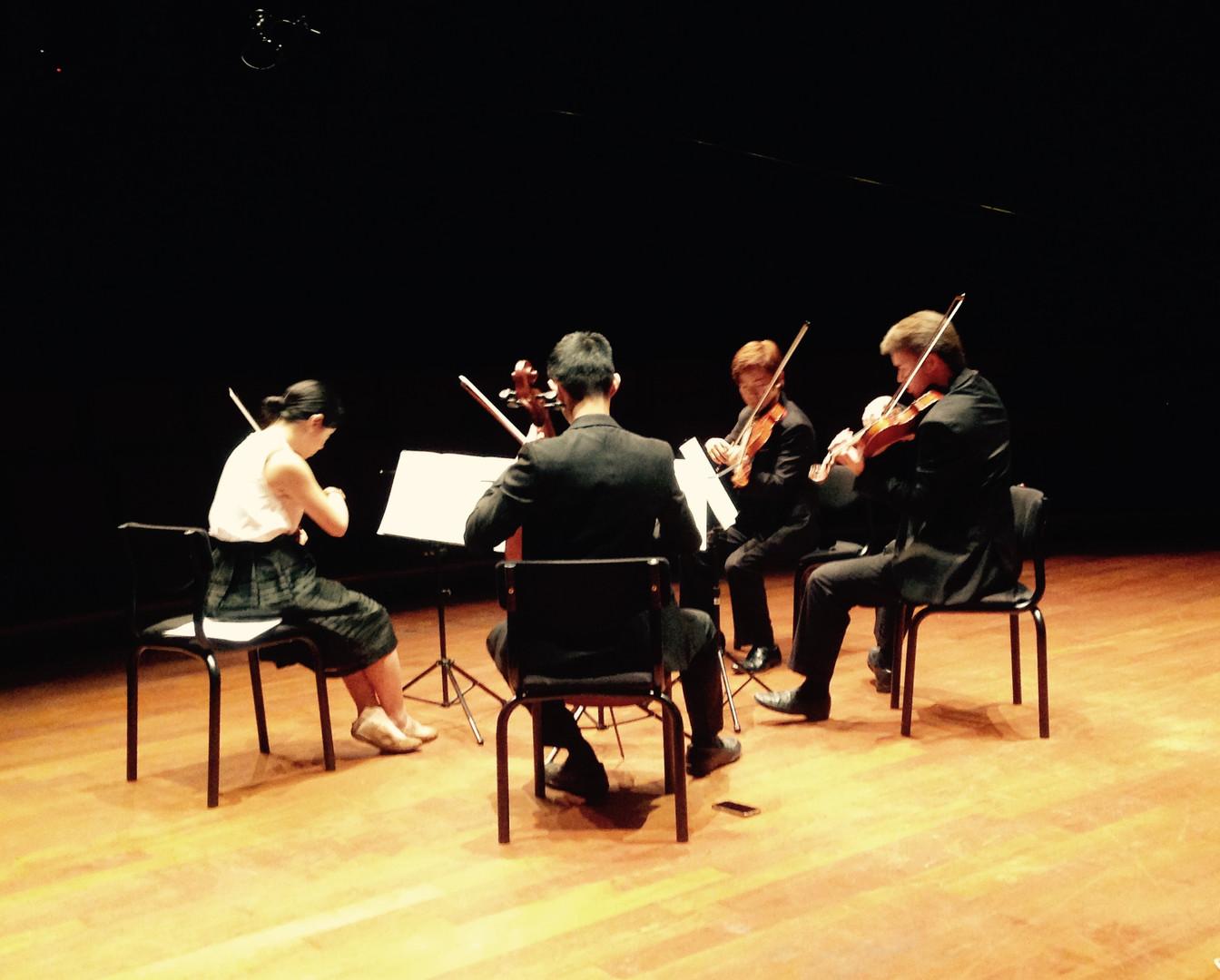 Music For String Quartet – New Music for Strings Festival – Aarhus, Denmark (2016)