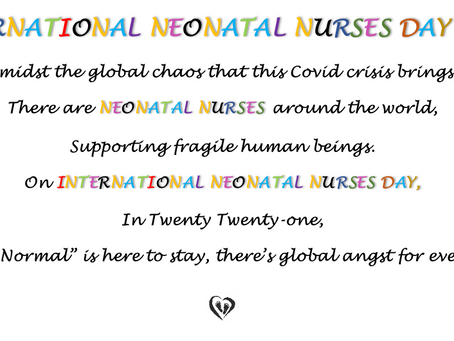 INTERNATIONAL NEONATAL NURSES DAY 2021