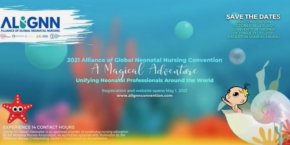 Convention Proper - ALLIANCE OF GLOBAL NEONATAL NURSING - INAUGURAL CONVENTION
