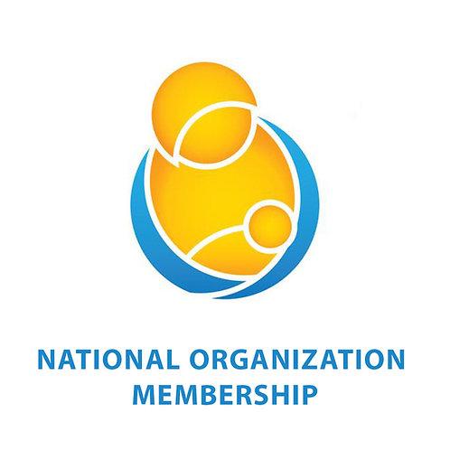 NATIONAL ORGANIZATION MEMBERSHIP