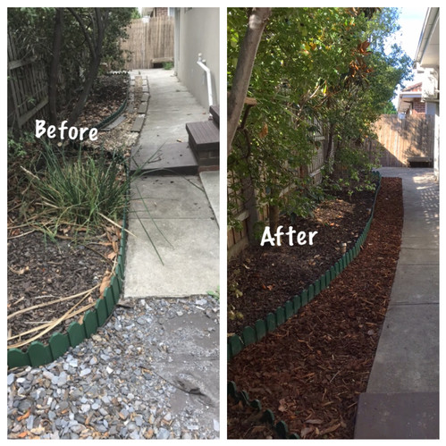 Yard clean up and revitalisation