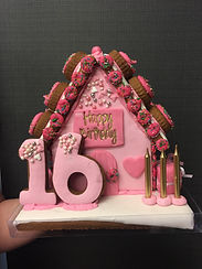 Happy Birthday 16 YO - Gingerbread House