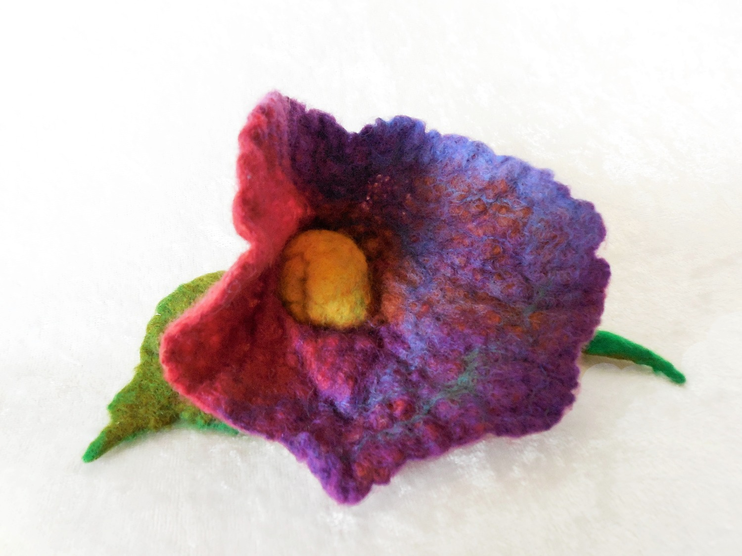 Floral Shaped Brooch