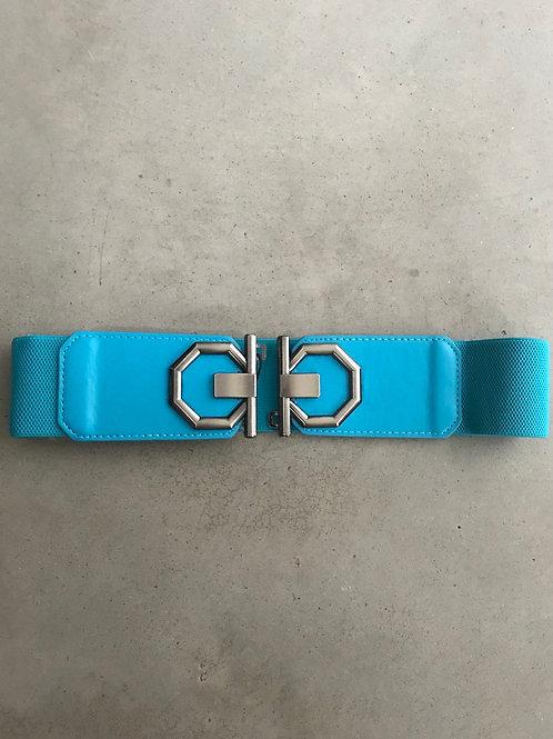 Cintura azzurra alta