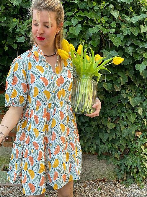 Vestitino tulipani