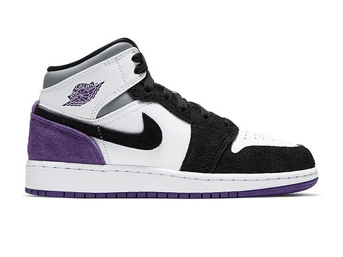 JORDAN 1 MID PURPLE