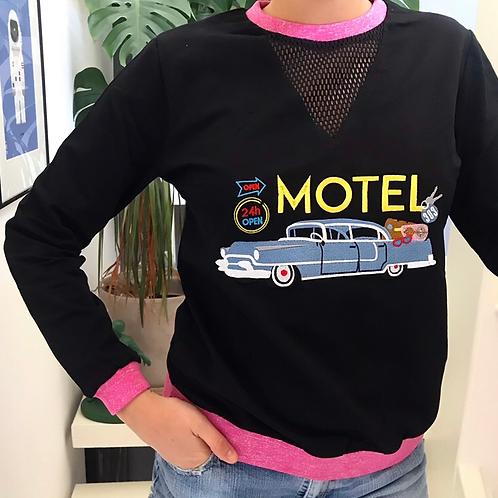 FELPA RICAMO 'motel'