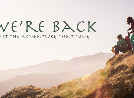 We're Back!!