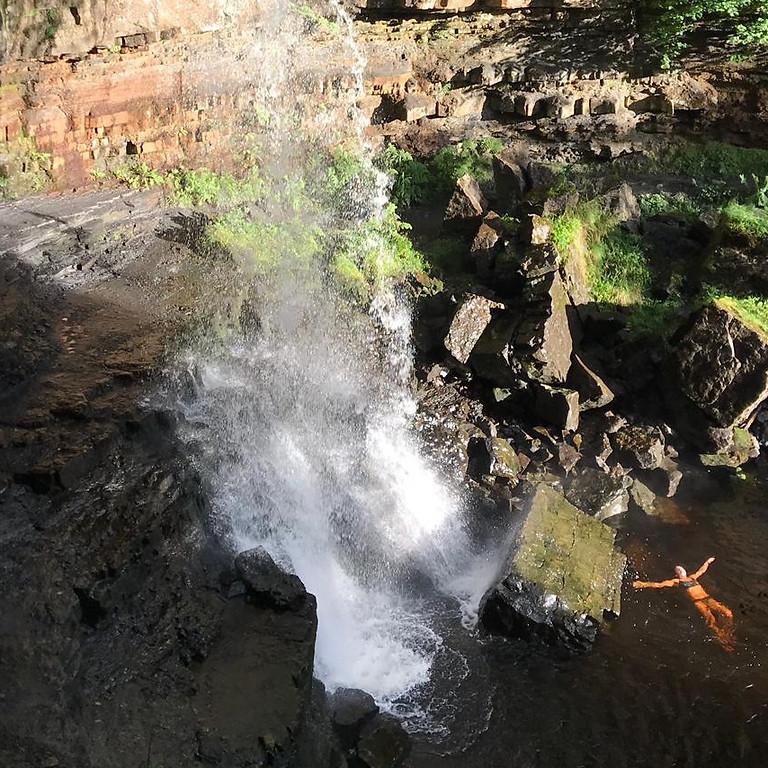 Wild Waterfall Swim