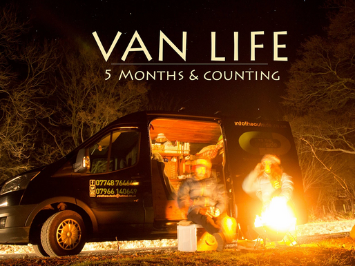Van life; 5 Months and counting...