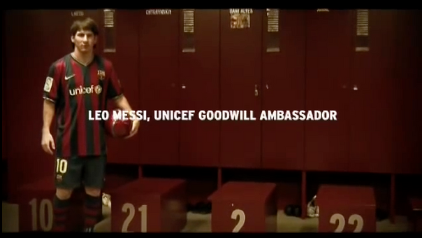 Support UNICEF's Day for Change with Messi