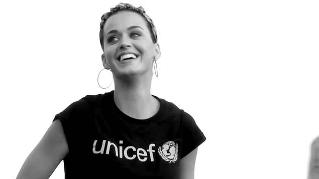 Support UNICEF's Day for Change with Katy Perry, fundraise at your school and show children around the world unconditional support.