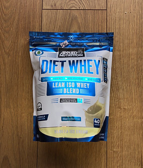 Applied nutritions diet iso whey (vanilla ice cream)