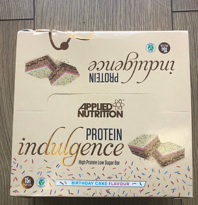 Applied Nutritions indulgence bar (birthday cake)
