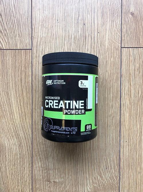 Optimum nutritions creatine (88 servings )