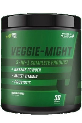 Trained by jp nutrition VEGGIE MIGHT 3 in 1 greens