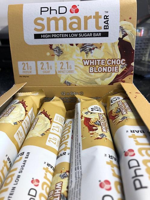 Phd smart bar (white choc blondie)