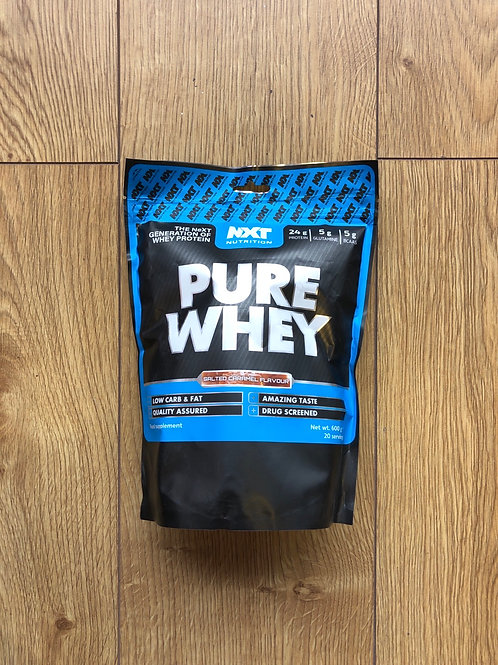 Nxt nutritions pure whey (salted caramel)