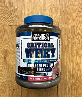 Applied Nutrition critical whey (white choc raspberry)