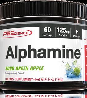 P E Science ALPHAMINE(various flavours)