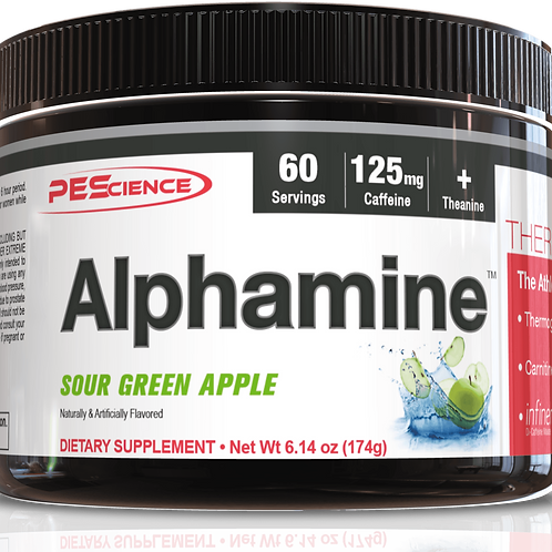 P E Science ALPHAMINE(various flavours)
