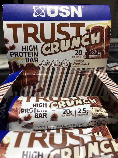 Usn crunch bar (triple chocolate )