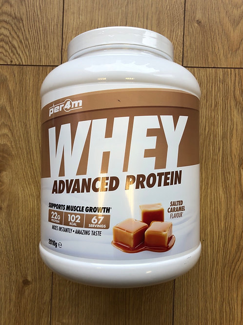 Per4m whey protein (salted caramel )