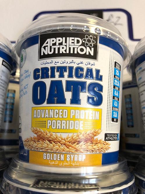Critical oats (golden syrup)