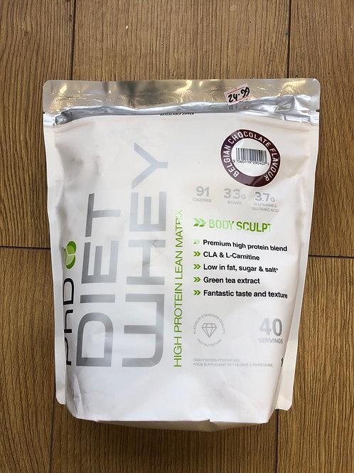 PHD diet whey protein (belgian choc)
