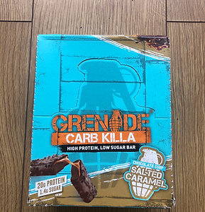 Grenade bar (choc chip salted caramel )