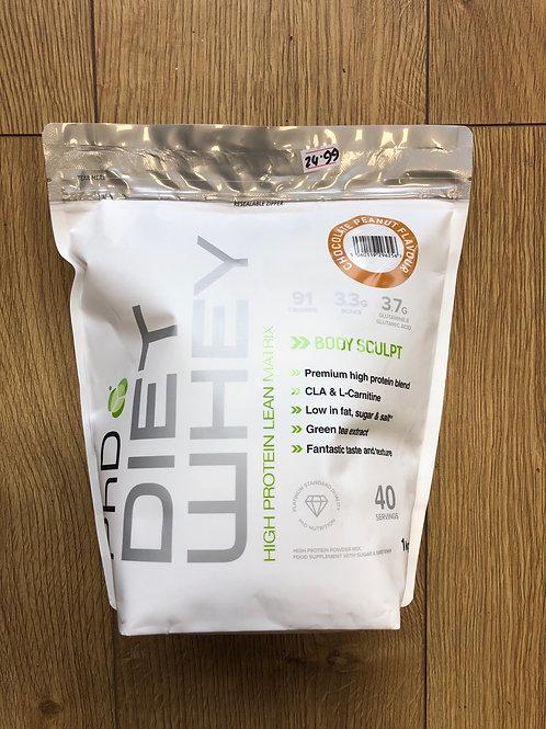 PHD diet whey (choc peanut )