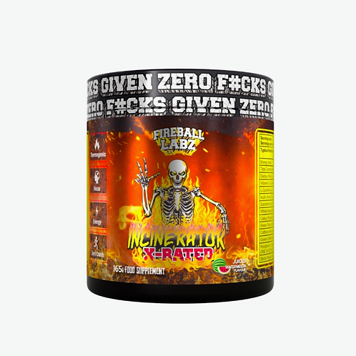 Fireball labz incinerator X rated (various flavours )