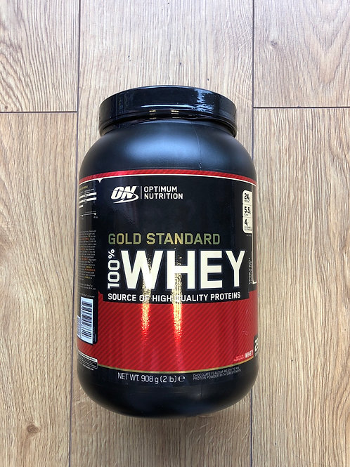 Optimum nutrition gold standard whey (white choc)