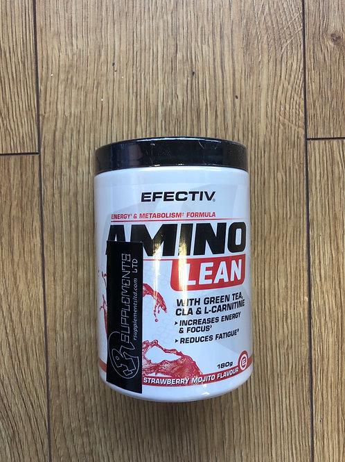 Efectiv amino lean (strawberry mojito)