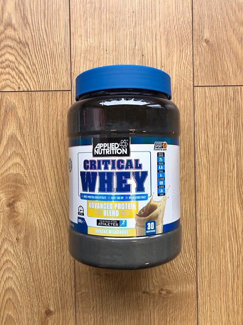 Applied Nutrition critical whey (banana)