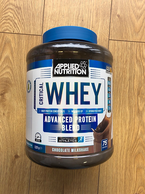 Applied Nutrition critical whey (chocolate)