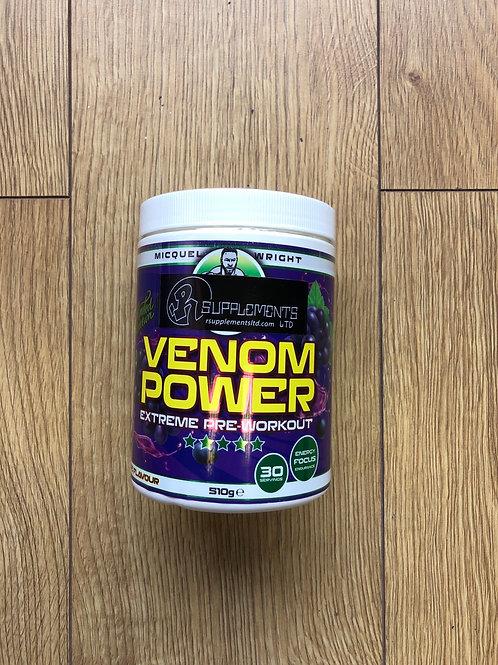 Micquel wrights venom pre workout (grape)