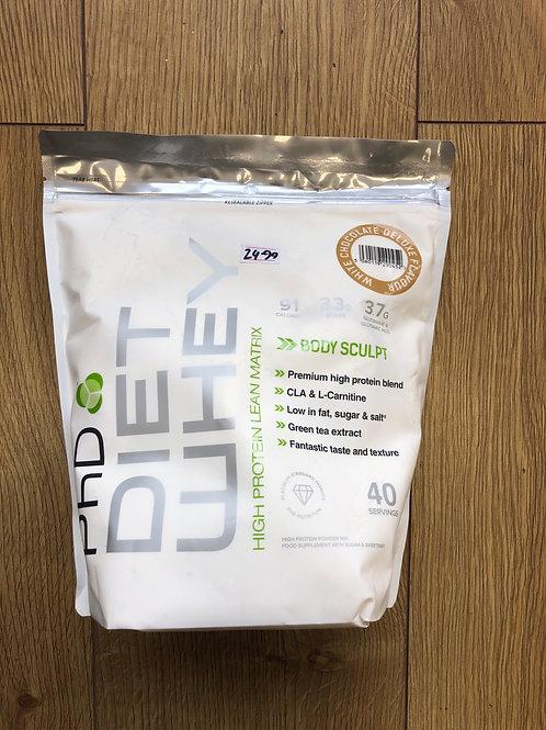 PHD diet whey (white choc)